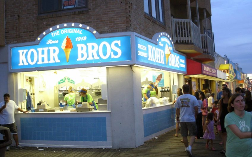 Kohr Bros Ice Cream